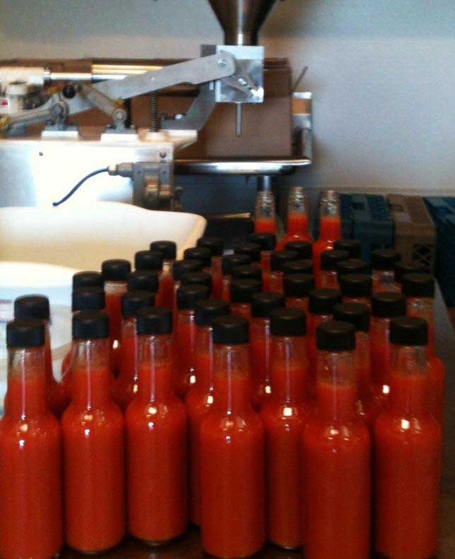 bottling sauces and equipment